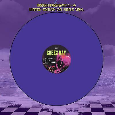 Green Day - Greatest Hits In Concert: Limited Edition On Purple Vinyl
