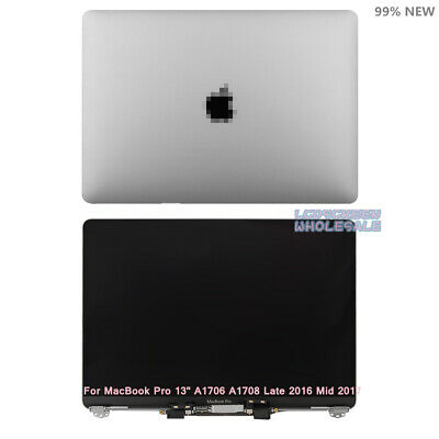 "MacBook Pro 13"" A1706 A1708 2016 2017 Retina LCD Screen Assembly (Space Gray)"