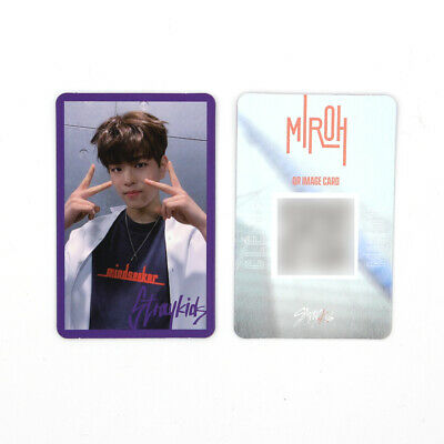 [STRAY KIDS] SKZ / Cle1 : MIROH Official Photocard / Purple Border - SEUNGMIN
