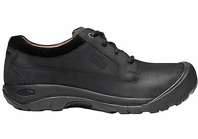 Mens Keen Austin Leather Waterproof Comfortable Lace Up Casual Shoes - ModeShoes