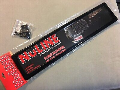 Kingpin Nuline Std Euro Number Plate Cover