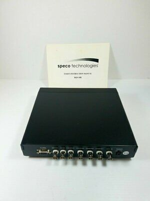 Pro Video RQS-10B Quad Splitter Processor New