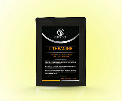 L Theanine 400mg capsules, cognitive booster, sleep, relaxation