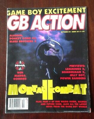 GB ACTION GAME BOY MAGAZINE OCTOBER 94, Issue 30.