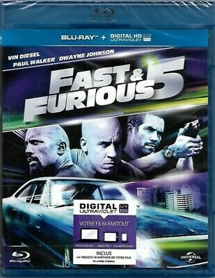 Fast & Furious 5 BLU-RAY NEUF SOUS BLISTER