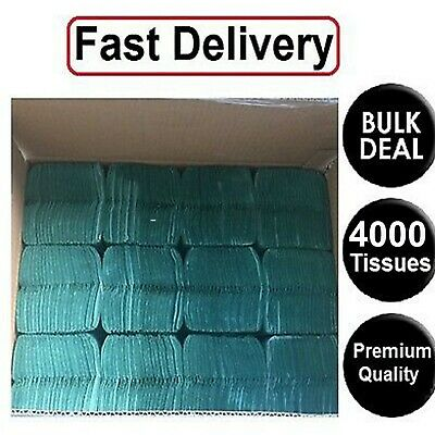 4000  Paper Hand Towels C fold  tissues Multi Fold Premium Quality Single Ply