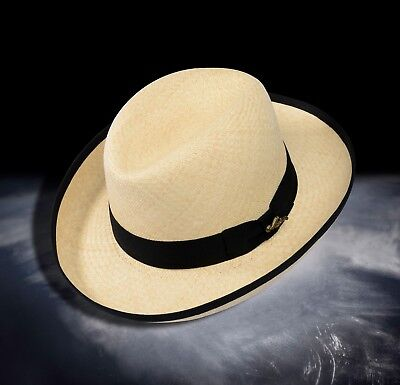 2400ce8fbb6462 Monticristi® Genuine Montecristi Panama Hat 12 Grade HOMBURG on Sale