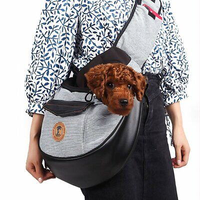Pet Sling Carrier Bag Tote Shoulder Dog Puppy Purse Pouch Travel 3 Colors 2019