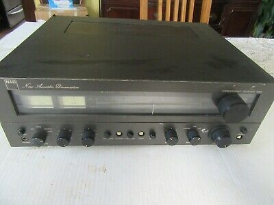 NAD 7030 AM/FM Stereo Receiver Rare 1977 New Acoustic Dimension powers on