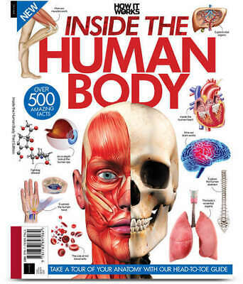 INSIDE THE HUMAN BODY # HOW IT WORKS # 3rd edition # 500+ facts # Anatomy #
