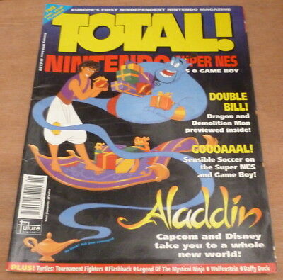 Total * Nintendo - Games Magazine * Issue 25 - January 1994