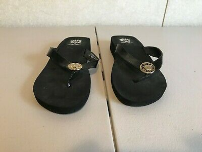 d1405fd6c37 YELLOW BOX WOMENS Orchid Clear Flip Flops Size 10 (169914) -  23.99 ...