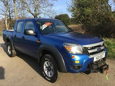 2011 FORD RANGER 2.5ltr TDCI XL 4x4 DOUBLE CAB PICK UP GENUINE 128k FULL SERVICE