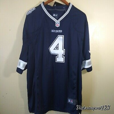 eae813c7292 NEW DAK PRESCOTT Dallas Cowboys Blue Jerseys Free Shipping New With ...
