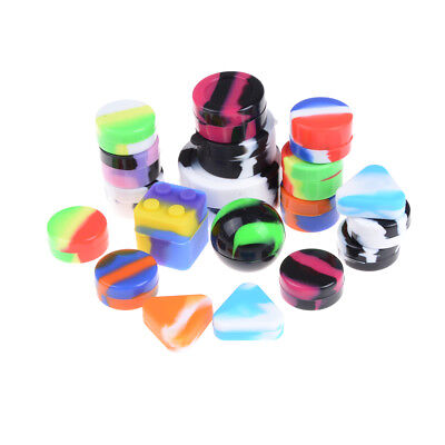 1.5ML-22ML Silicone Container Nonstick Jars Dab For Concentrate Oil Wax、FORDUK