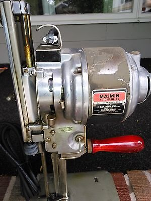 "MAIMIN Auto XX 6"" FABRIC - FOAM CUTTER - EXCELLENT SHAPE 110 VOLTS - WORKS GREAT"