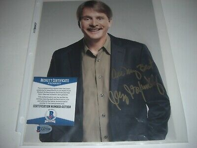 Jeff Foxworthy Actor/Comedian Smeared Beckett/Coa Signed 8X10 Photo