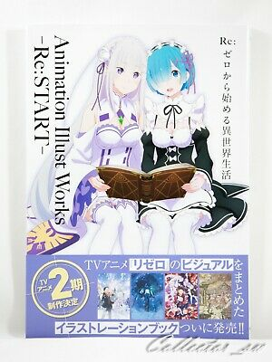 3 - 7 Days | Re:Zero Animation Illust Works - Re: Start - Art Book from JP