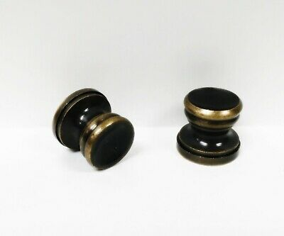 Lamp Parts-Finial Base-PEDESTAL STYLE W/CUP-Aged Brass, Solid Brass (1-PC.)