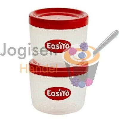 EasiYo Behälter Set 2 x 500 ml