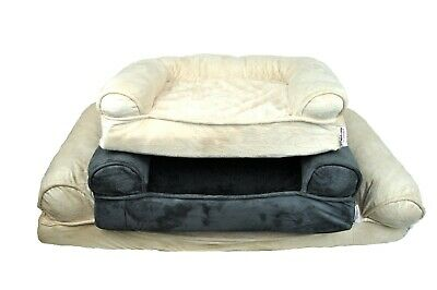 Orthopedic Dog Sofa Bed Comfortable Pet Sofa Style Great for Cats Dogs Washable