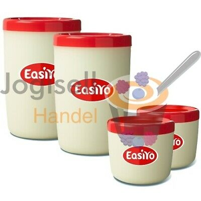 EasiYo Behälter Set 2 x 1000 ml / 2 x 250 ml