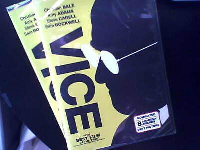Vice (DVD)(2018) (Christian Bale - Steve Carel - Amy Adams) In stock - Ships Now