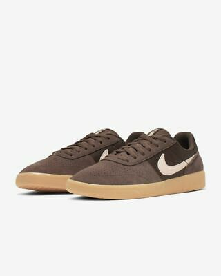 Brand New Mens Nike SB Team Classic Skateboard Shoes Baroque Brown Coral Pink