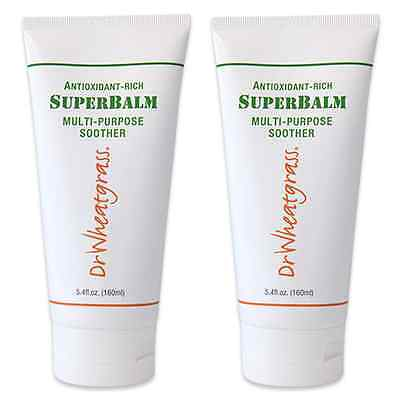 (Pack of 2) Dr Wheatgrass Superbalm -Great For Fissure, Stiff Muscle, Injury