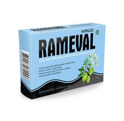 Rameval-For nervous system and sleep-15 capsules