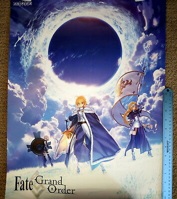 """18x24/"""" Fate//Grand Order Poster from Aniplex at Crunchy Roll Expo 2018"""