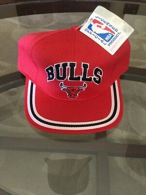 Vintage Chicago Bulls Drew Pearson Deadstock Hat Cap Brand Snapback New W/ Tags!