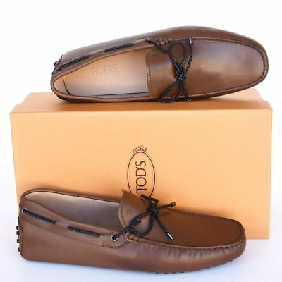 3d1994fc9d0 TOD S Tods New sz UK 9.5 - US 10.5 Designer Mens Drivers Loafers Shoes brown
