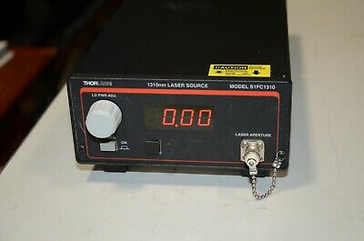 Thorlabs S1FC1310 S1FC 1310 nm Laser Source