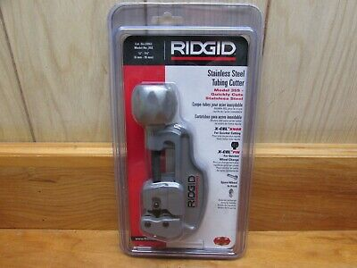 "RIDGID STAINLESS STEEL TUBING CUTTER 29963 MODEL 35S FOR 1/4"" to 1 3/8"""