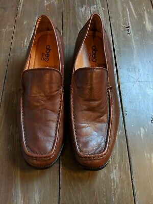 3cbaea283b7 ABEO BIO MEN S Shoes Loafers Size 13 Brown Suede Orthopedic Support ...