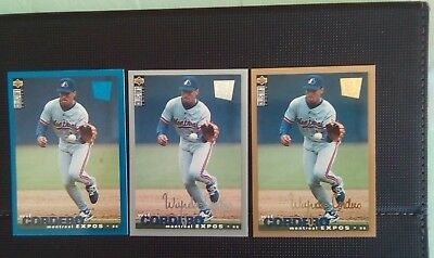 1994 Wil Codero Vintage upper deck Collectors Choice Blue Silver & Gold