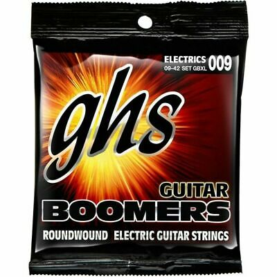 GHS GBXL Guitar Boomers Roundwound Electric Guitar Strings  9 - 42 sale Price