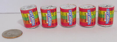 VINTAGE 4 Candies Mini LIFESAVERS old Stock Set of 5 Rainbow Assorted
