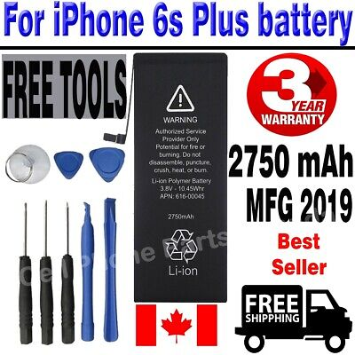 OEM Brand New Full Capacity iPhone 6S Plus Battery 2750 mAh With Free Tools