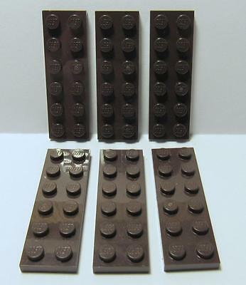 LEGO Parts~ Plate 2 x 6 2x6 RED 3795 6