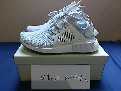 9783956beb1d2 Titolo x adidas Consortium NMD XR1 Trail Celestial White Size 10.5 BY3055  DS NEW