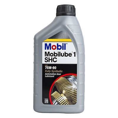 Mobil Mobilube 1 SHC 75W-90 Fully Synthetic Gear Oil 75W90 1 Litre 1L
