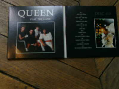 QUEEN Platy the game 3CD 3 volets Live USA tour 82