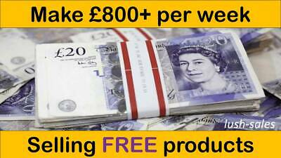 Make £800+ per week selling FREE products| BUSINESS FOR SALE | Easy run business