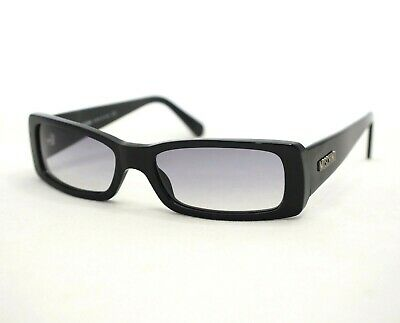 MOSCHINO 3670 sunglasses black gray rectangular small women glasses