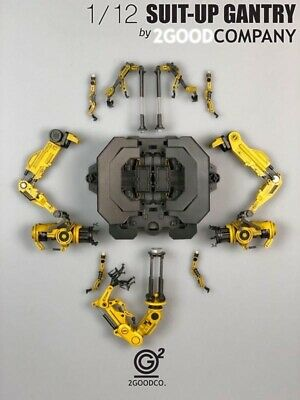 2GOODCO 1//12 Suitup Gantry Iron Man superAlloy Armour Dismantling Station ABSToy