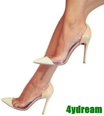 Sexy Womens Pointed Toe High Heel Stilettos Pu/Patent Leather Party/Club Shoes