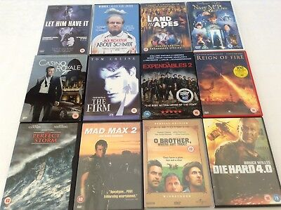 84 Dvd Mixed Genres £1 Each Or Make Offer For Job Lot