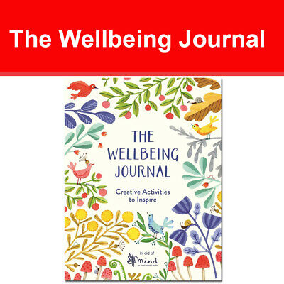 The Wellbeing Journal: Creative Activities to Inspire (Wellbeing Guides)NEW book
